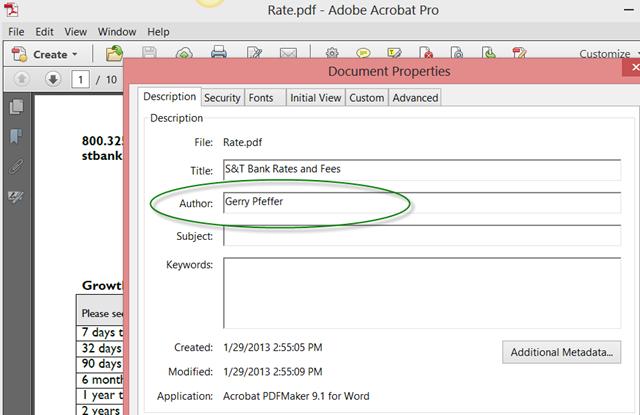 add pdf document to website